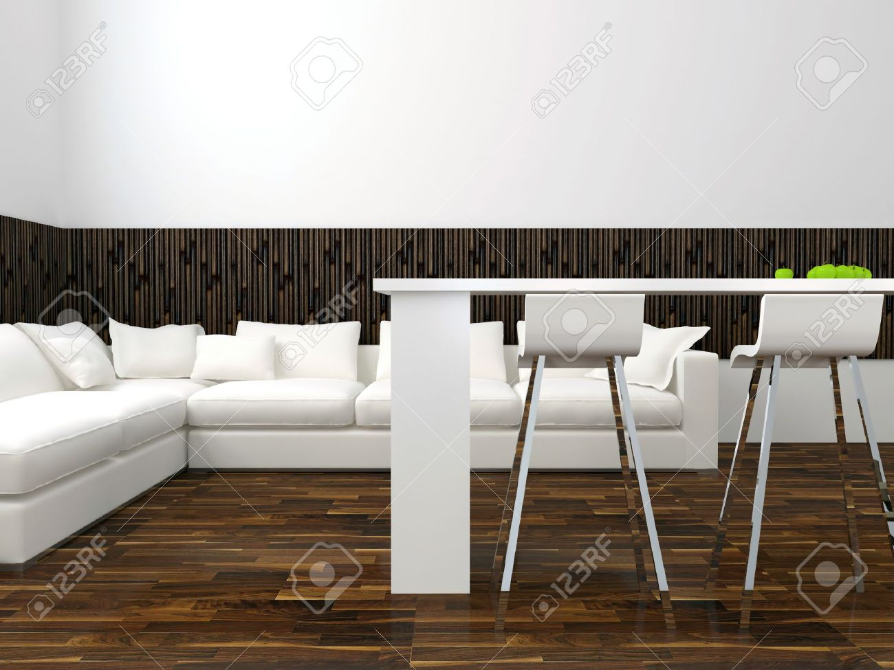 Sensational Interior Design Of Modern White Living Room With Big White Sofa Pdpeps Interior Chair Design Pdpepsorg