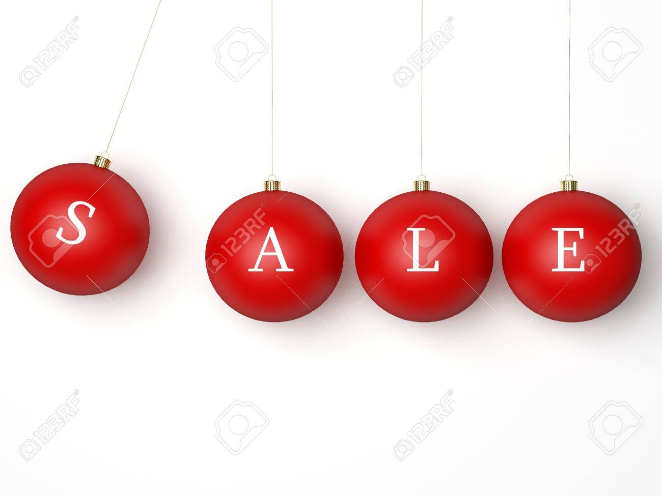 Sale Christmas Red Balls Modern Xmas Retail Decoration Bauble This Is A Detailed 3d