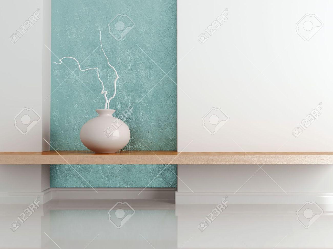 Detail shot of modern living room furniture. Interior design. Stock Photo - 16459558