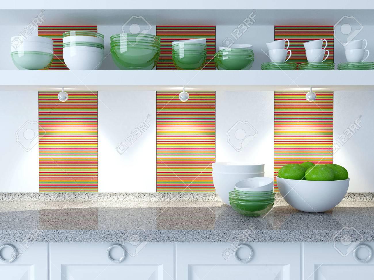 Regal Mit Arbeitsplatte Küche. Granit Wasserhahn Küche Luftabzug ...