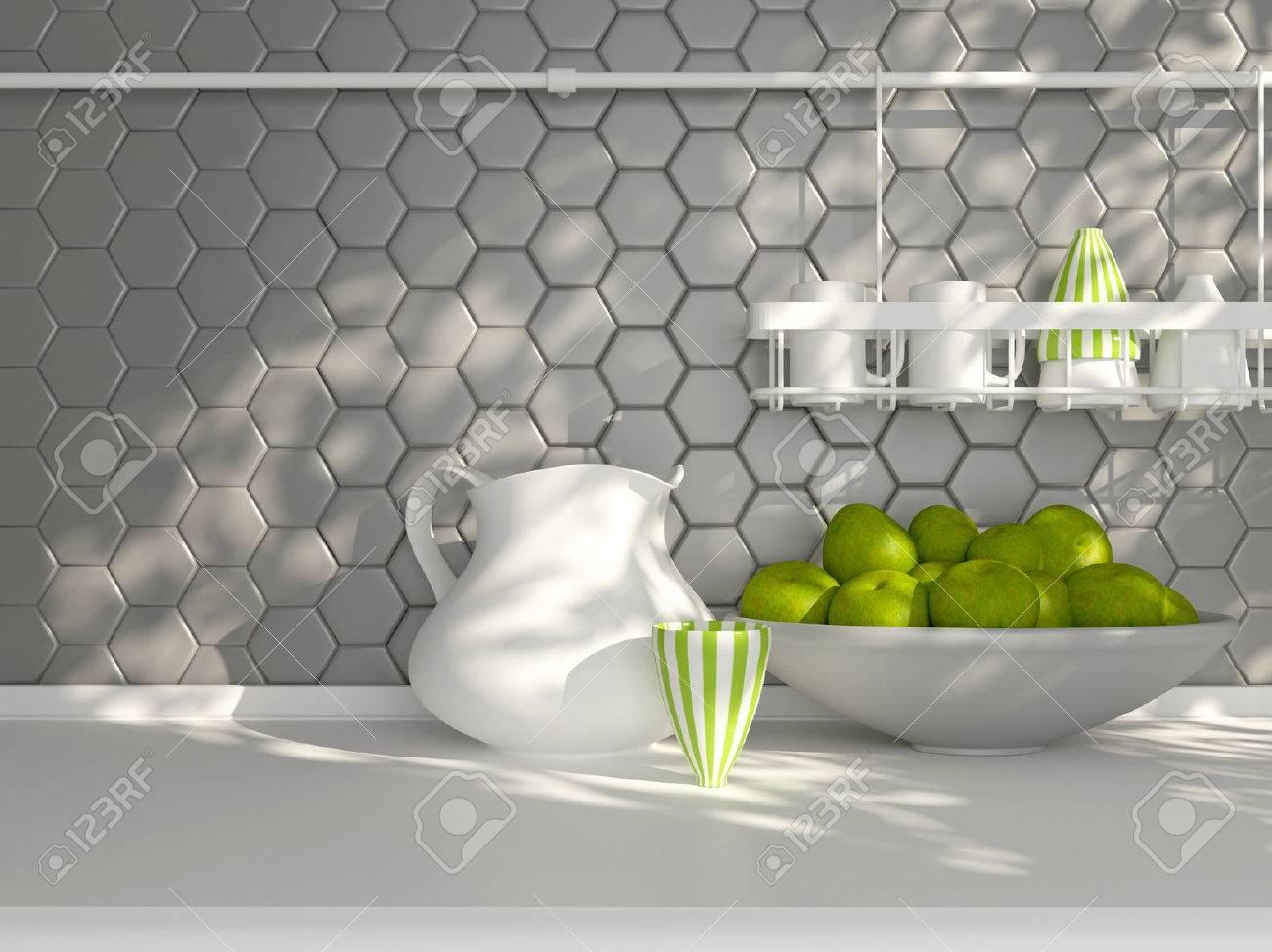 Piastrelle decorate moderne great mattonelle per cucine moderne