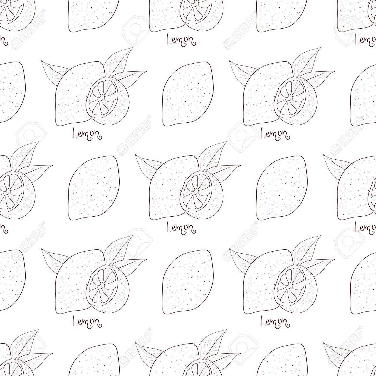 Background wallpaper seamless solid color sketch coloring stock vector