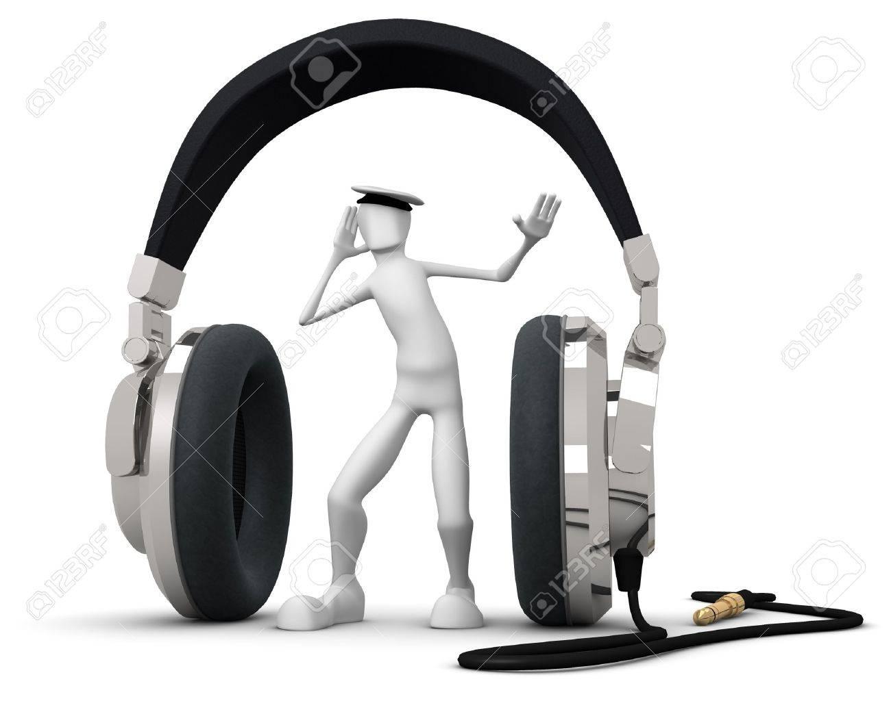 Headset Stock Photo - 8379795