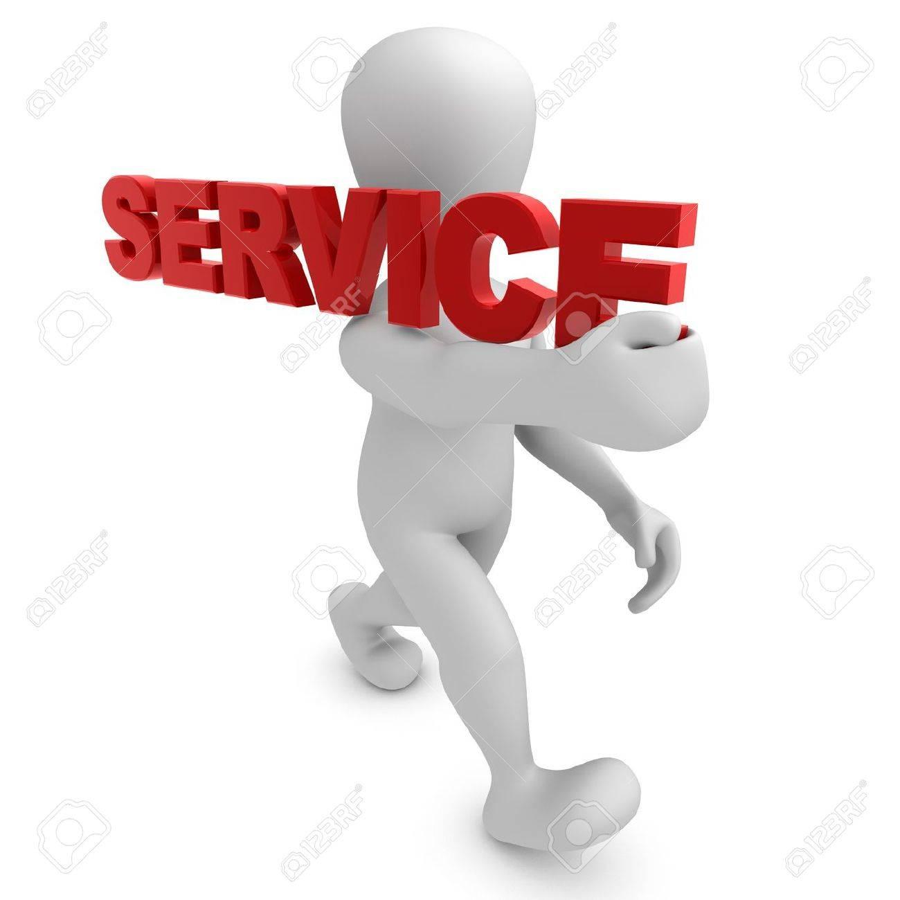 Borko shoulder SERVICE Standard-Bild - 8402862