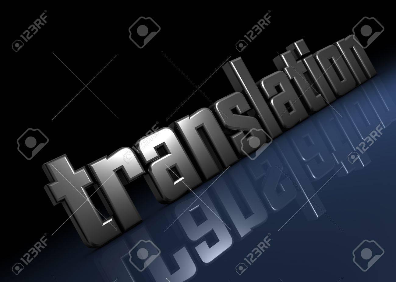 translation Standard-Bild - 8402885