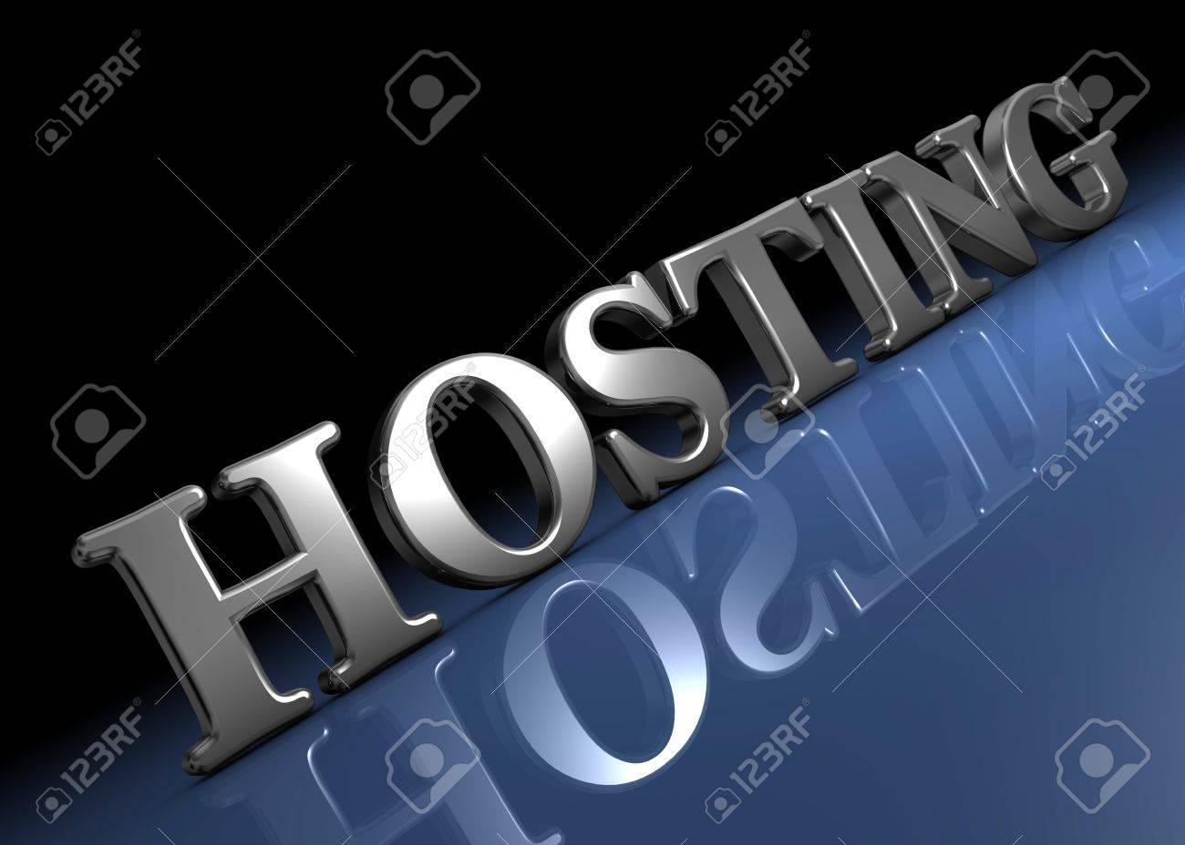 Hosting Standard-Bild - 8579196