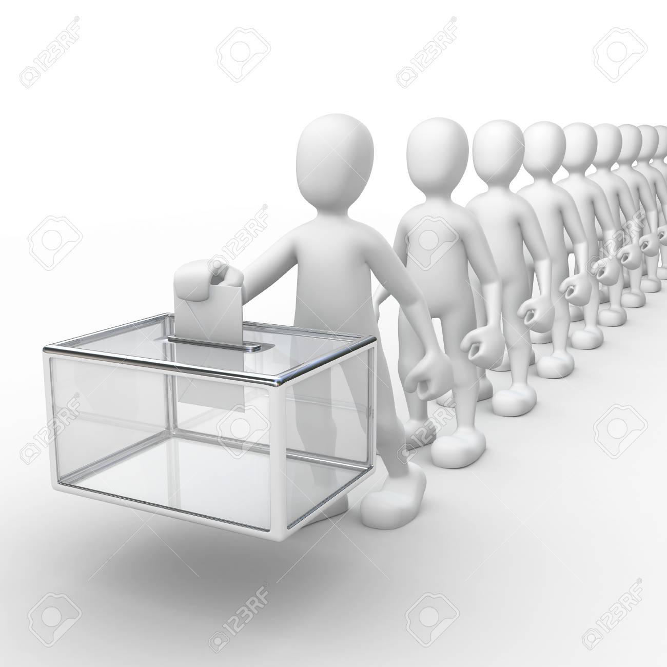 voting Standard-Bild - 9280873