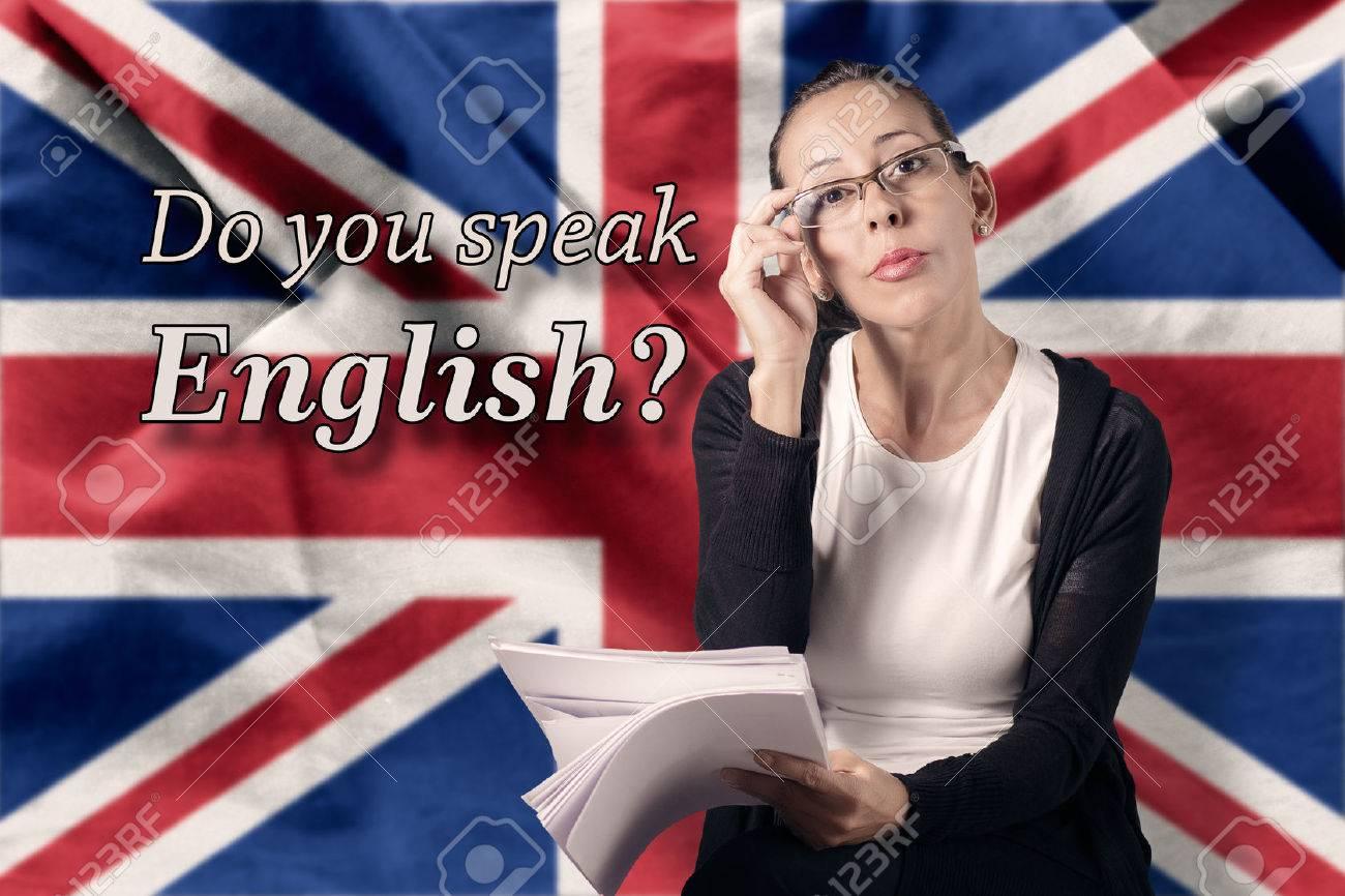 Do you speak English Standard-Bild - 30502403