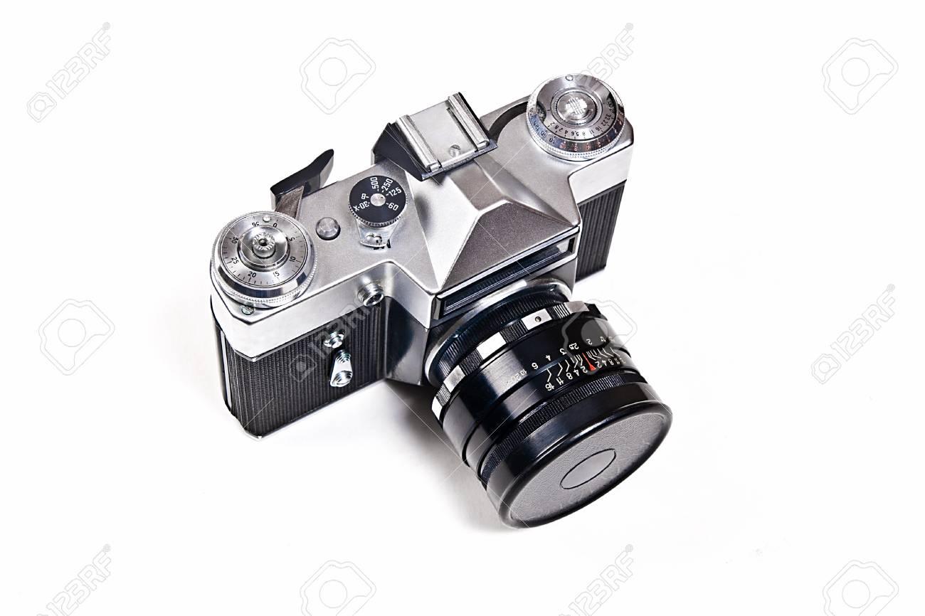 Entfernungsmesser Für Fotografie : Entfernungsmesser foto kamera mit objektiv. klassische schwarze