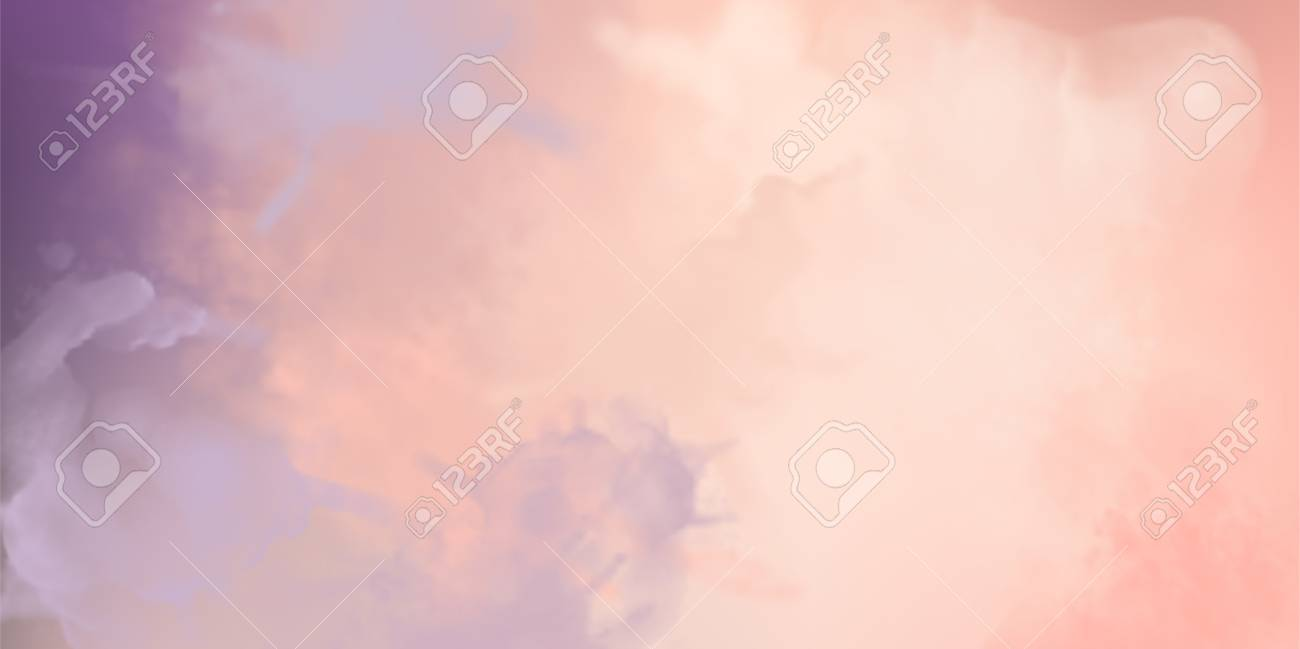 Decorative pink vector watercolor background with painting texture - 110832534