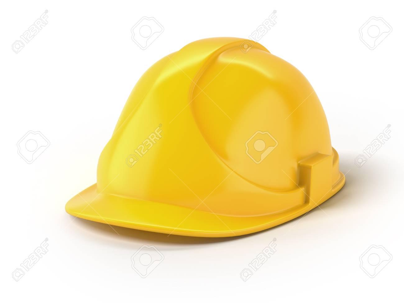 Yellow helmet Stock Photo - 16633323
