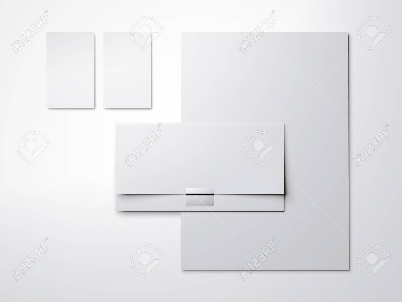 White mock up with blank business cards and envelope stock photo stock photo white mock up with blank business cards and envelope reheart Gallery