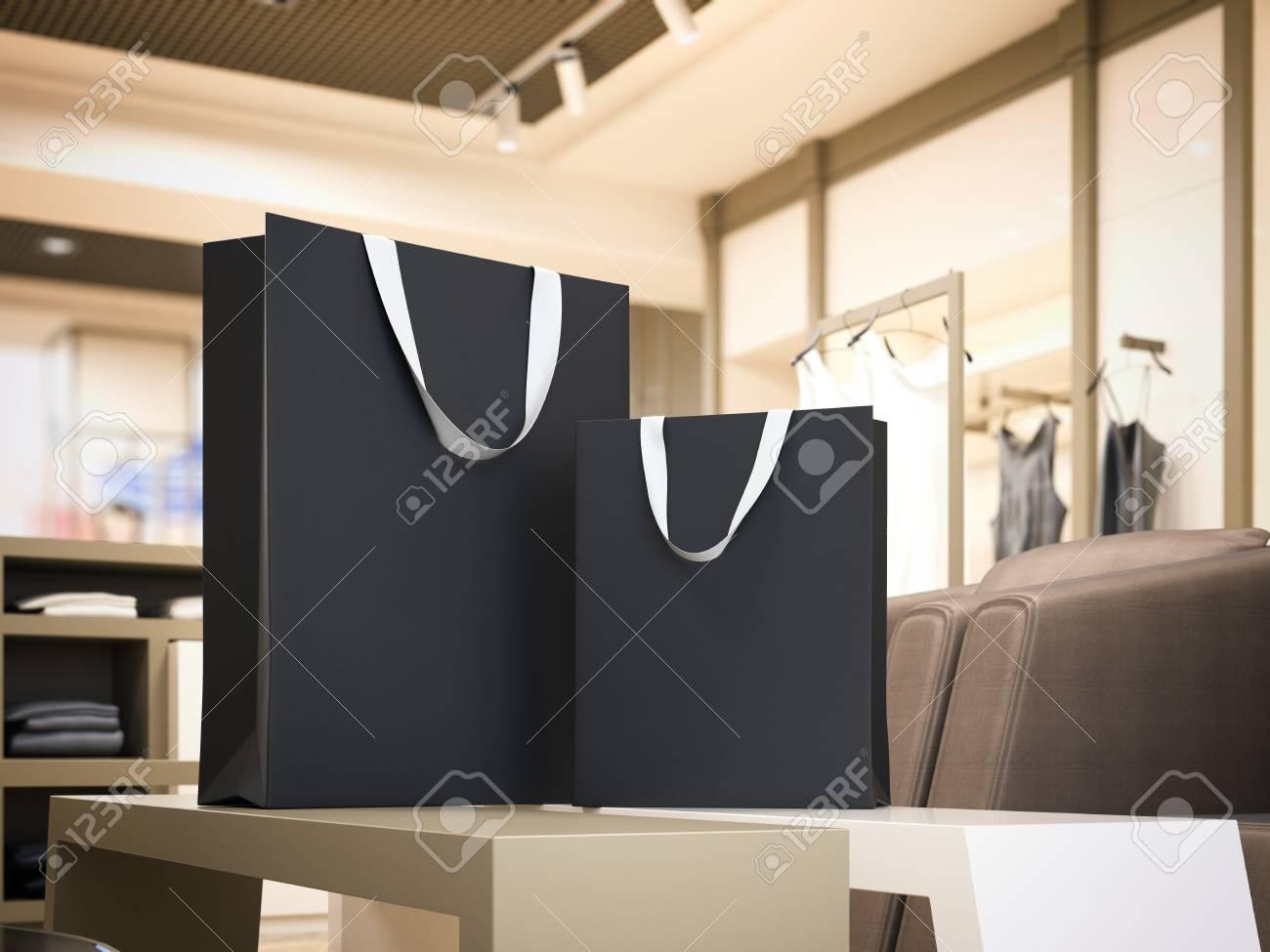 Dos Moderna Negras Bolsas Compras De Brillante En Boutique gwqF1vCxgn a90ee8103206