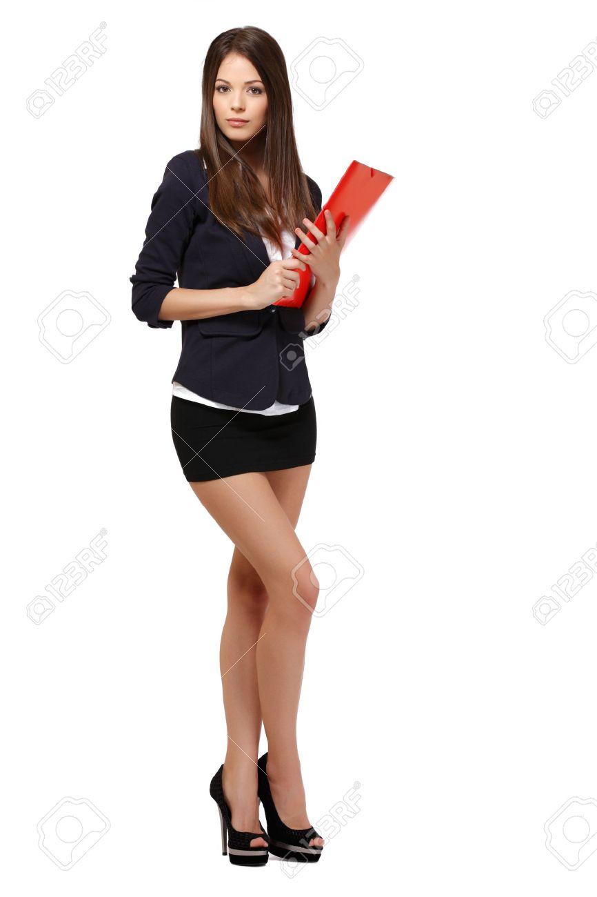 cute woman posing in studio Stock Photo - 13711141