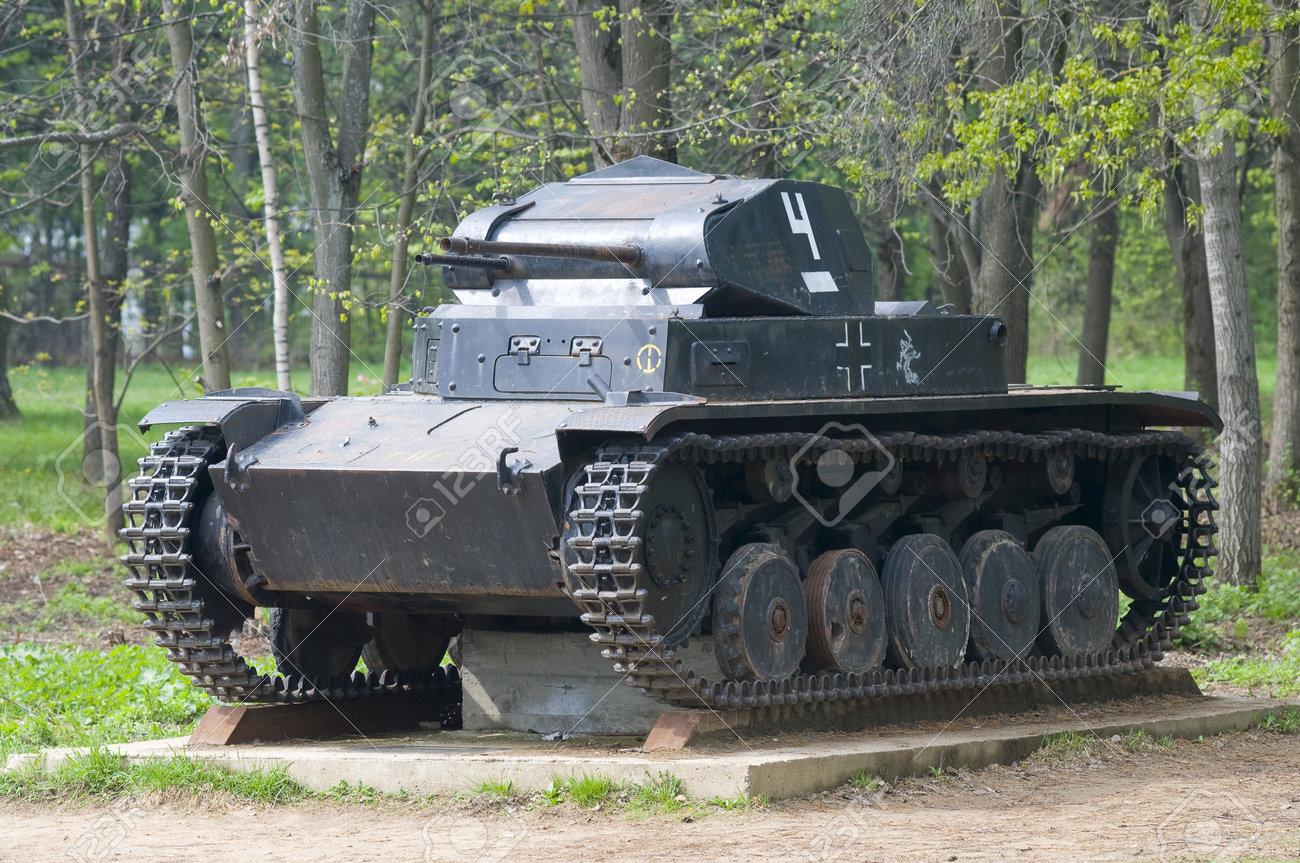 The old fascist tank Stock Photo - 13627268