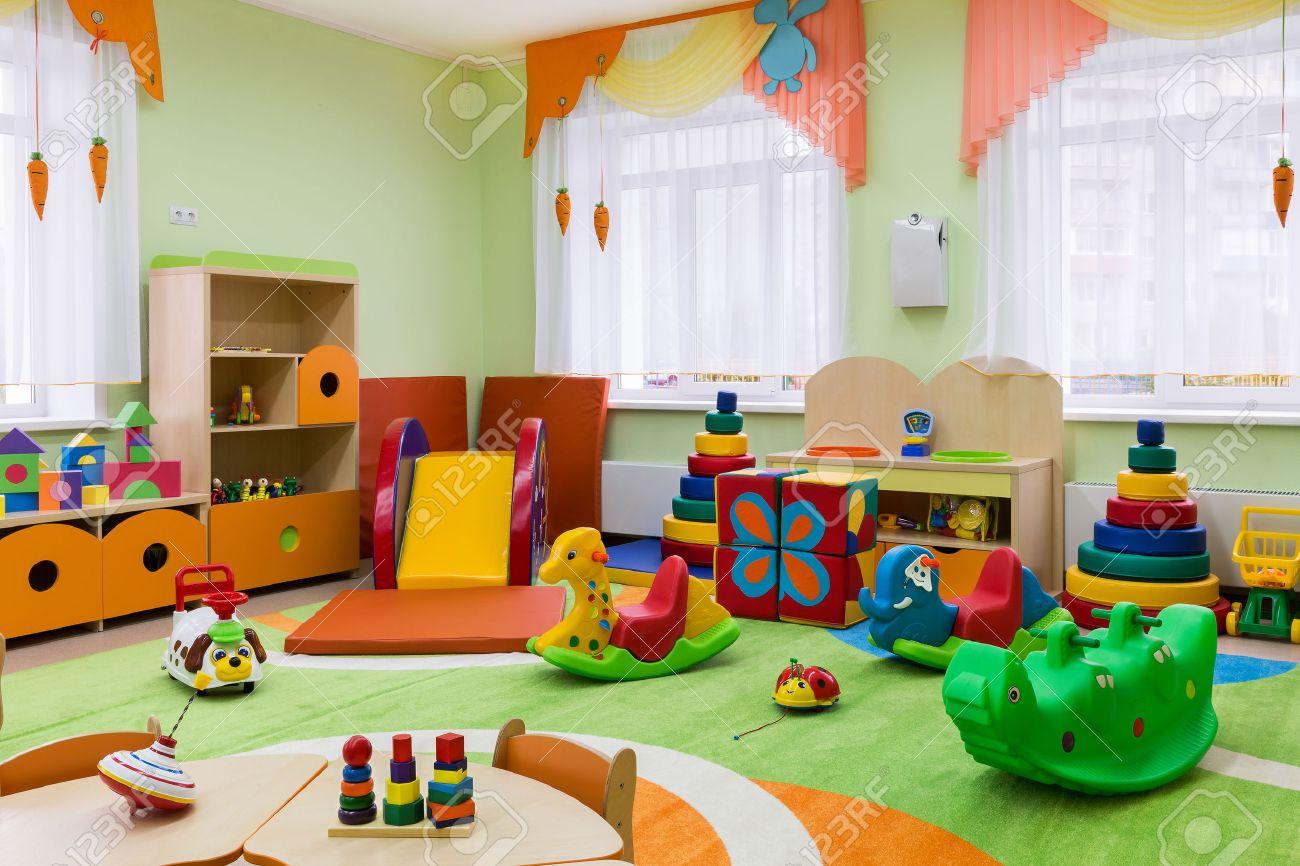 Décor Salle De Jeux salle de jeux à l'école maternelle