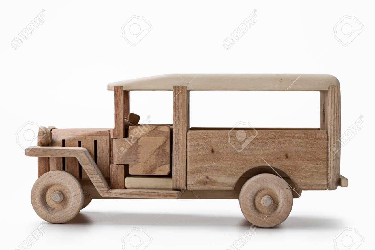 Un Hecho Autobús Vintagejuguete Maderavista Modelo Voynmn80w De VGSqUzpM