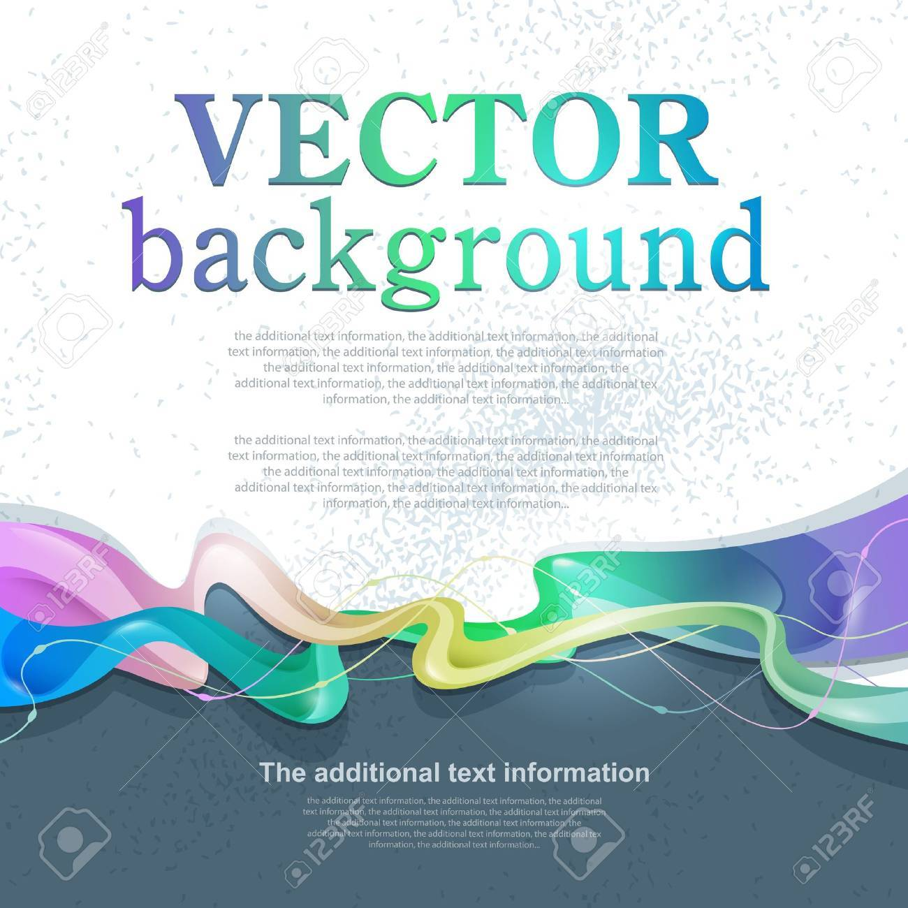 Vector abstract background for design with space for text Stock Vector - 13454852