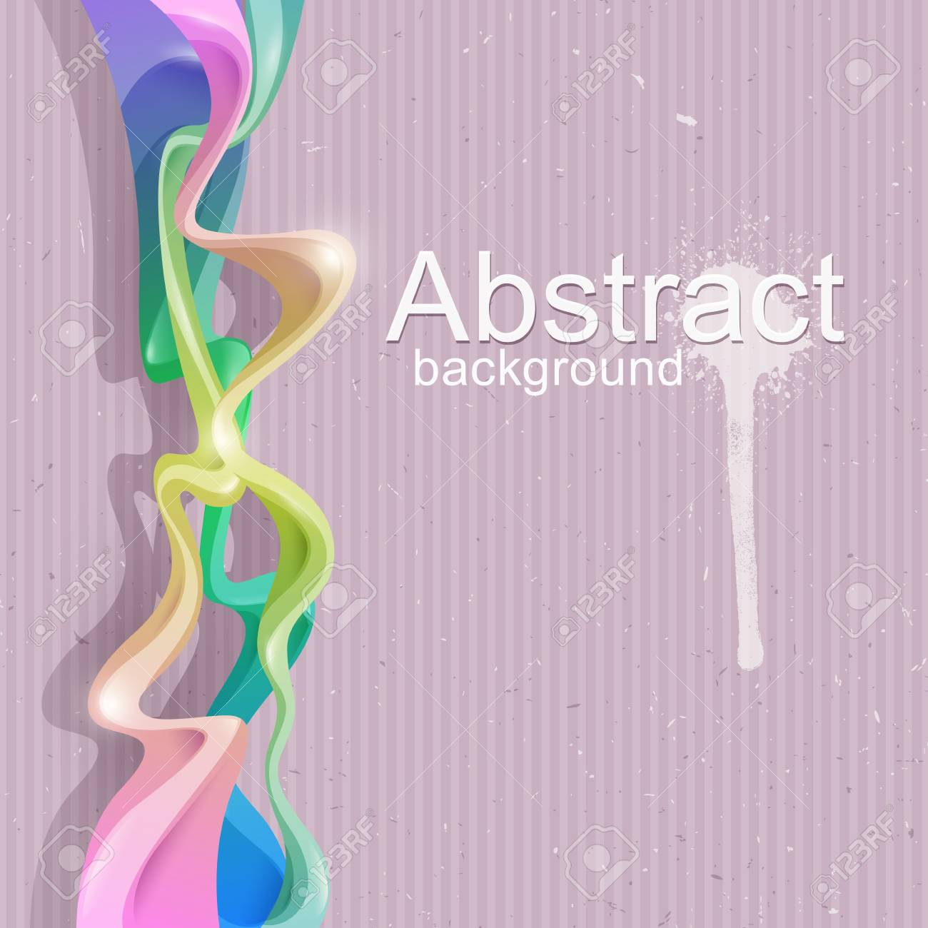 Bright colorful abstract background   illustration Stock Illustration - 18006424