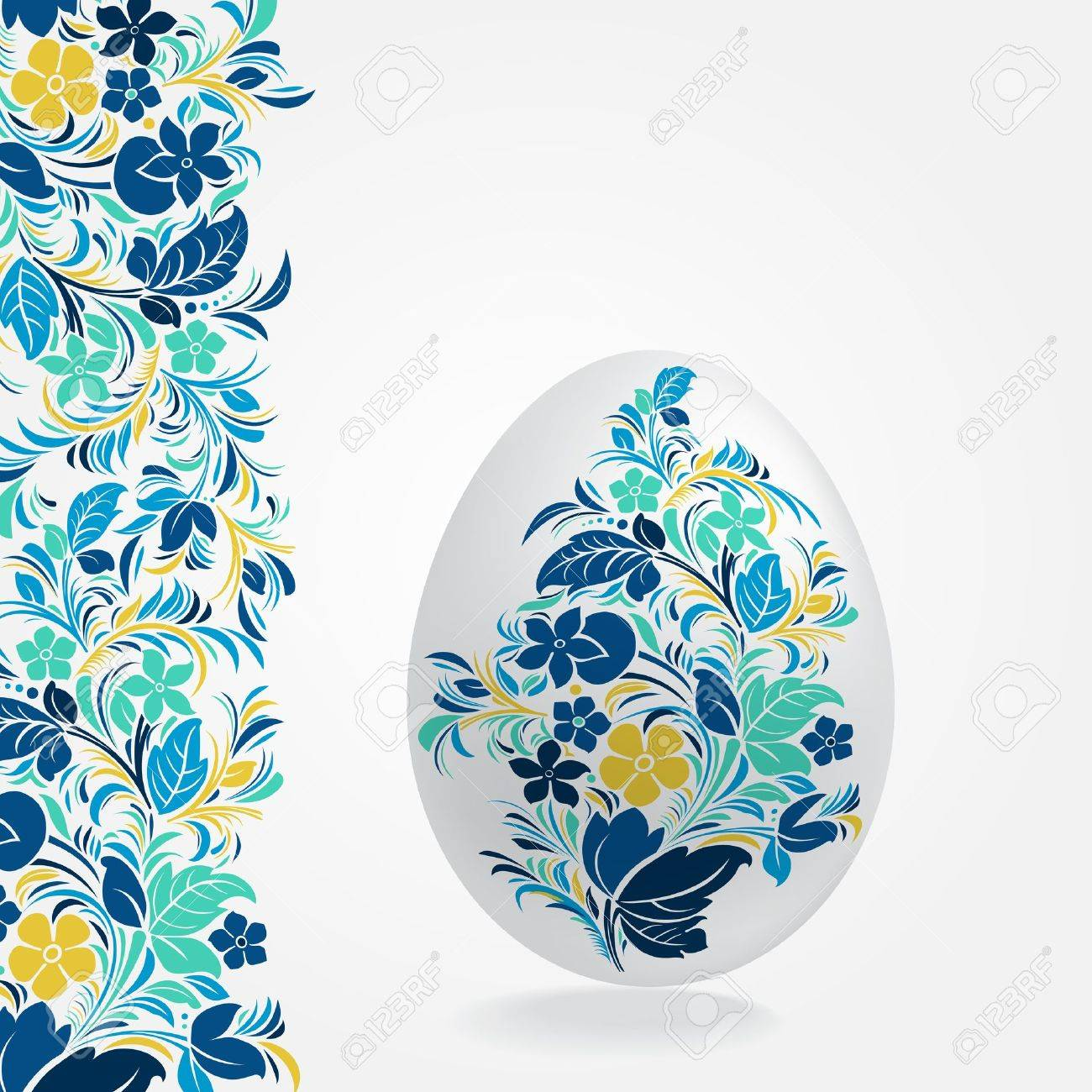 Easter Eggs Design Template Royalty Free Cliparts Vectors And