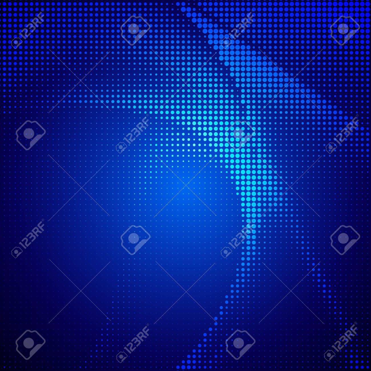 Abstract halftone lighting effects background Stock Vector - 19134146