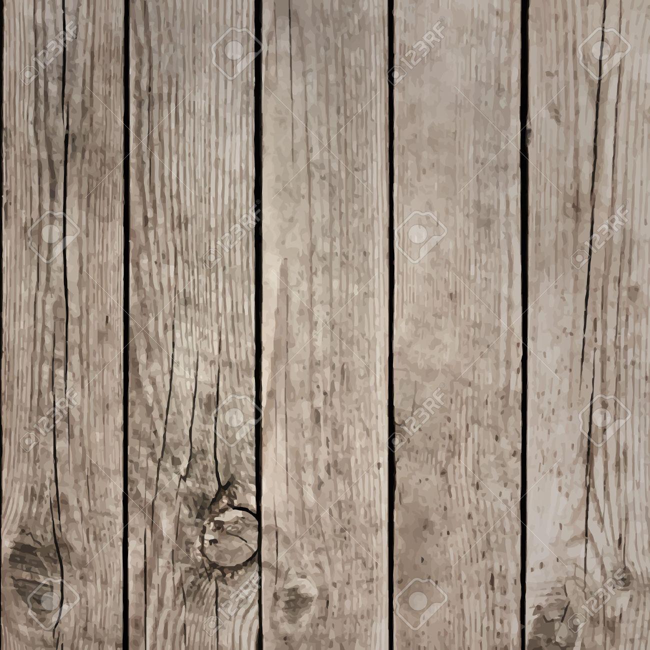 Wood Boards Floor Vector Texture Stock Vector - 25308136