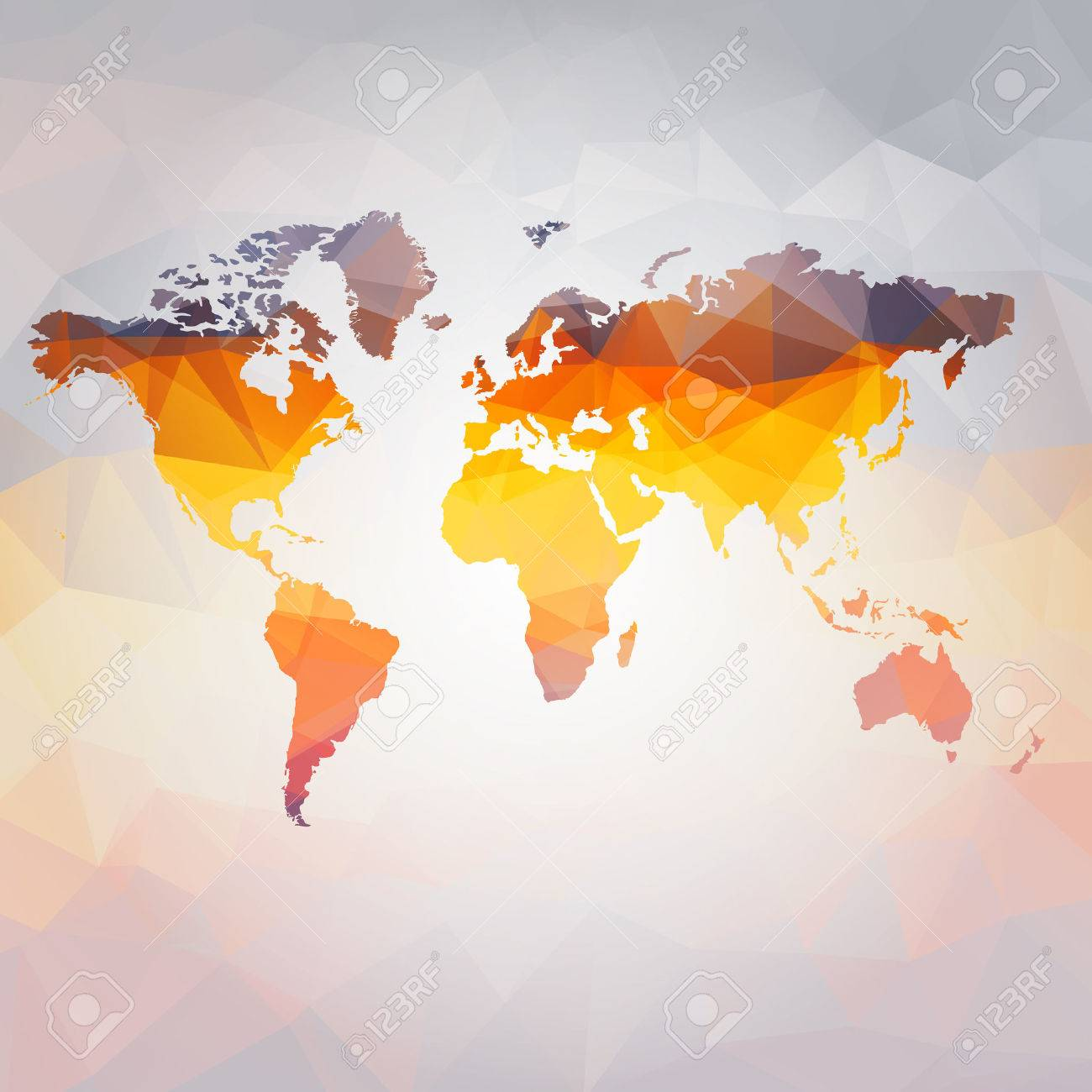 Modern concept of world map vector royalty free cliparts vectors modern concept of world map vector stock vector 25308138 sciox Images