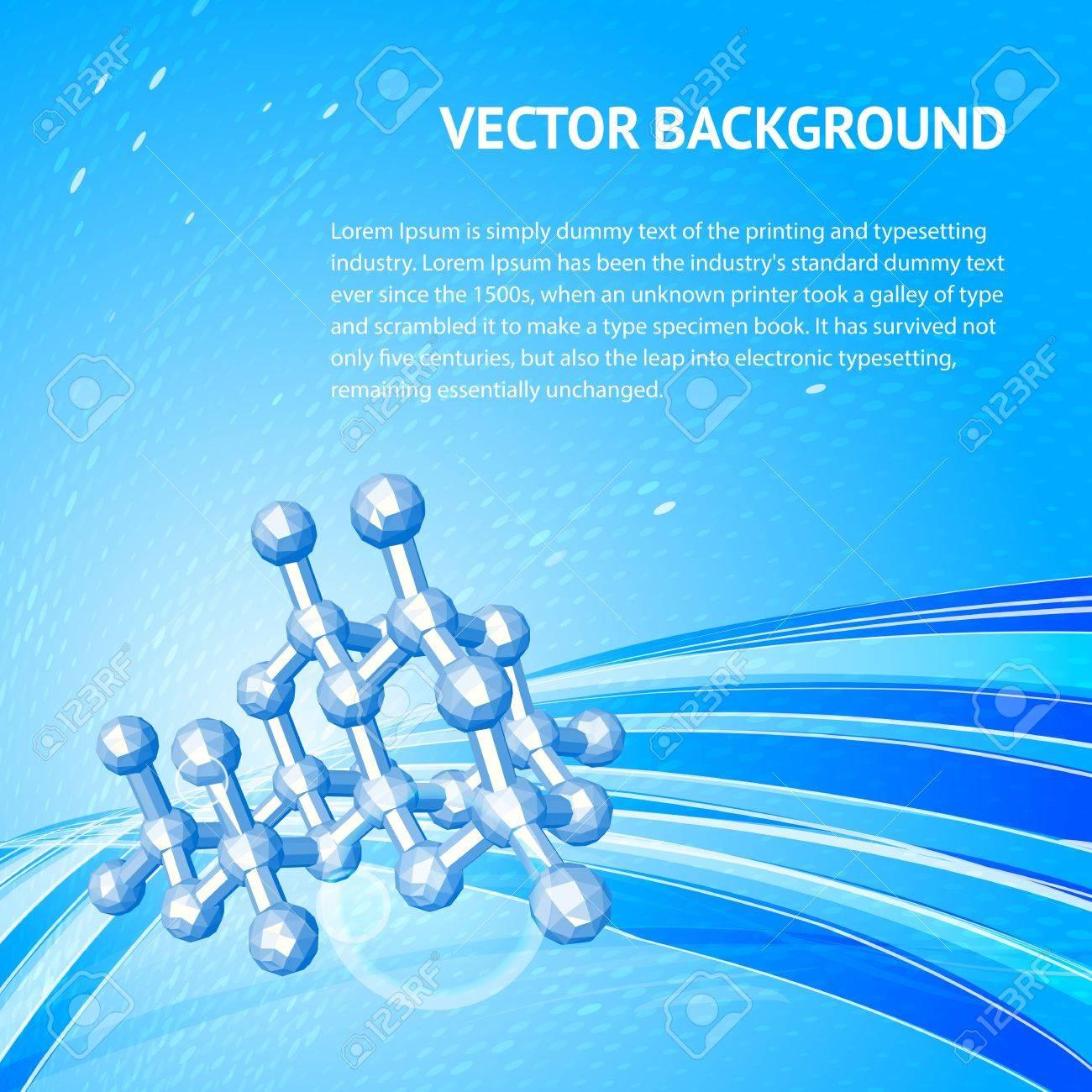 Atom, molecule Stock Vector - 17314357