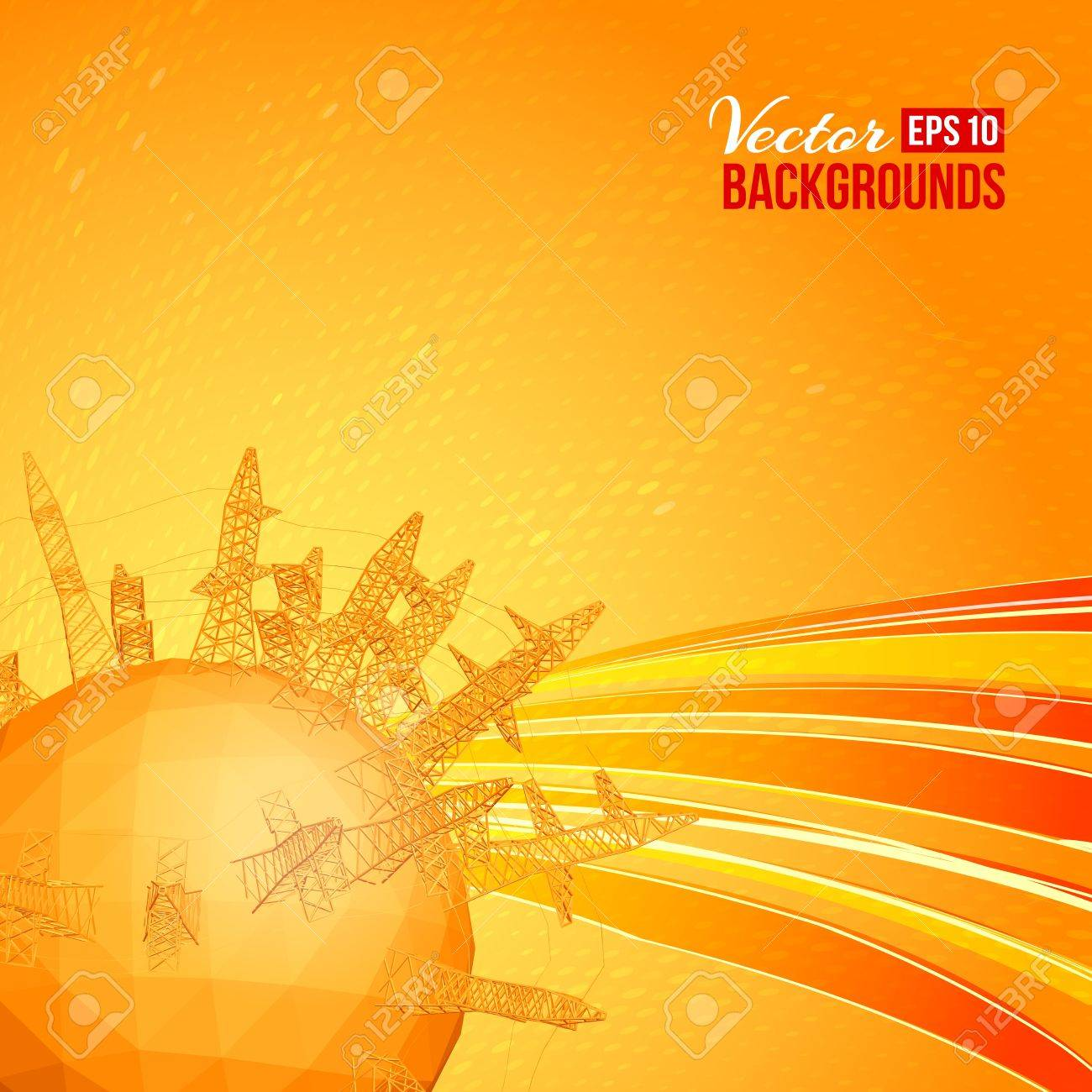 Industrial World - a vision of humorous Stock Vector - 17773504