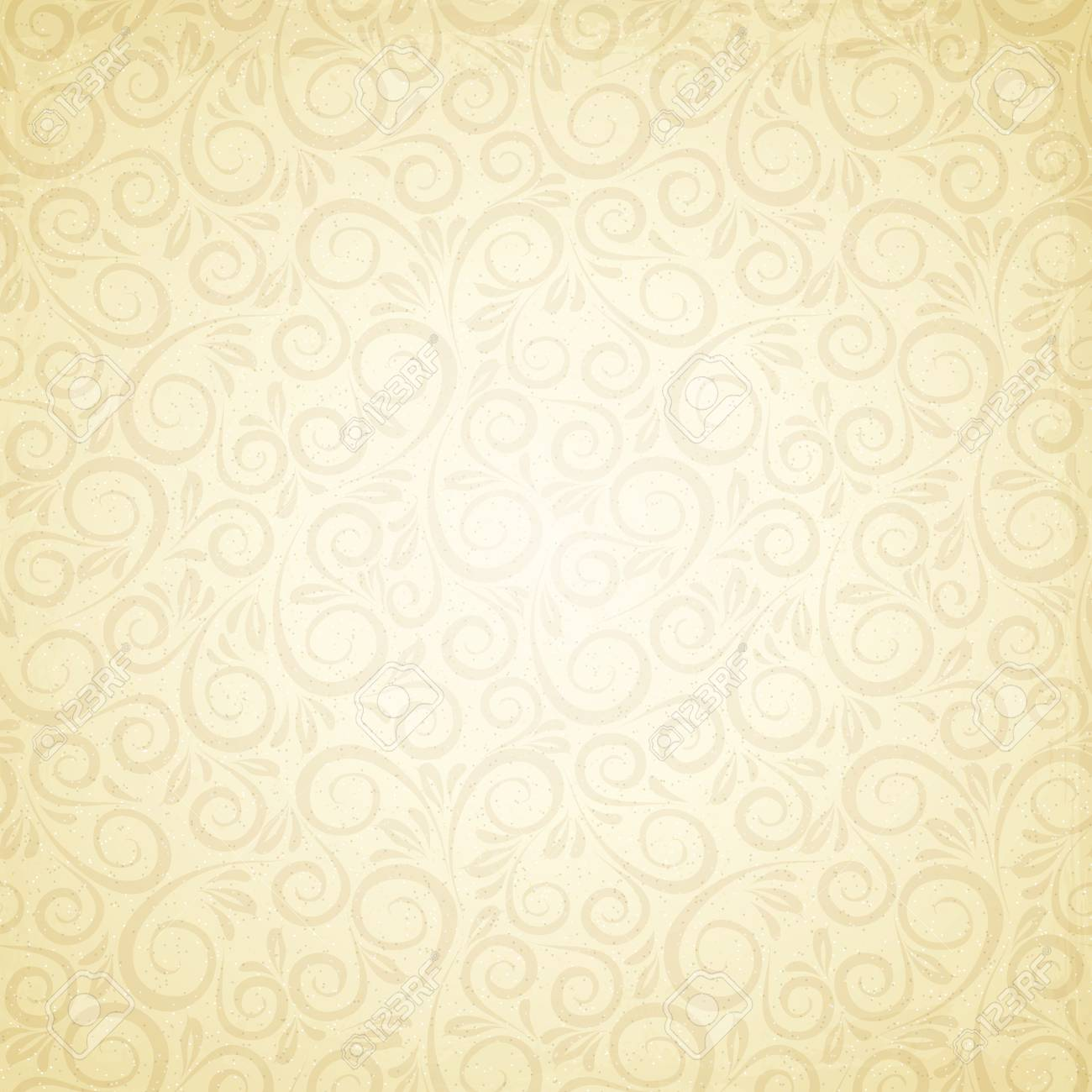 Floral background in vintage style  Vector illustration, eps10, contains transparencies, gradients and effects Stock Vector - 18095935