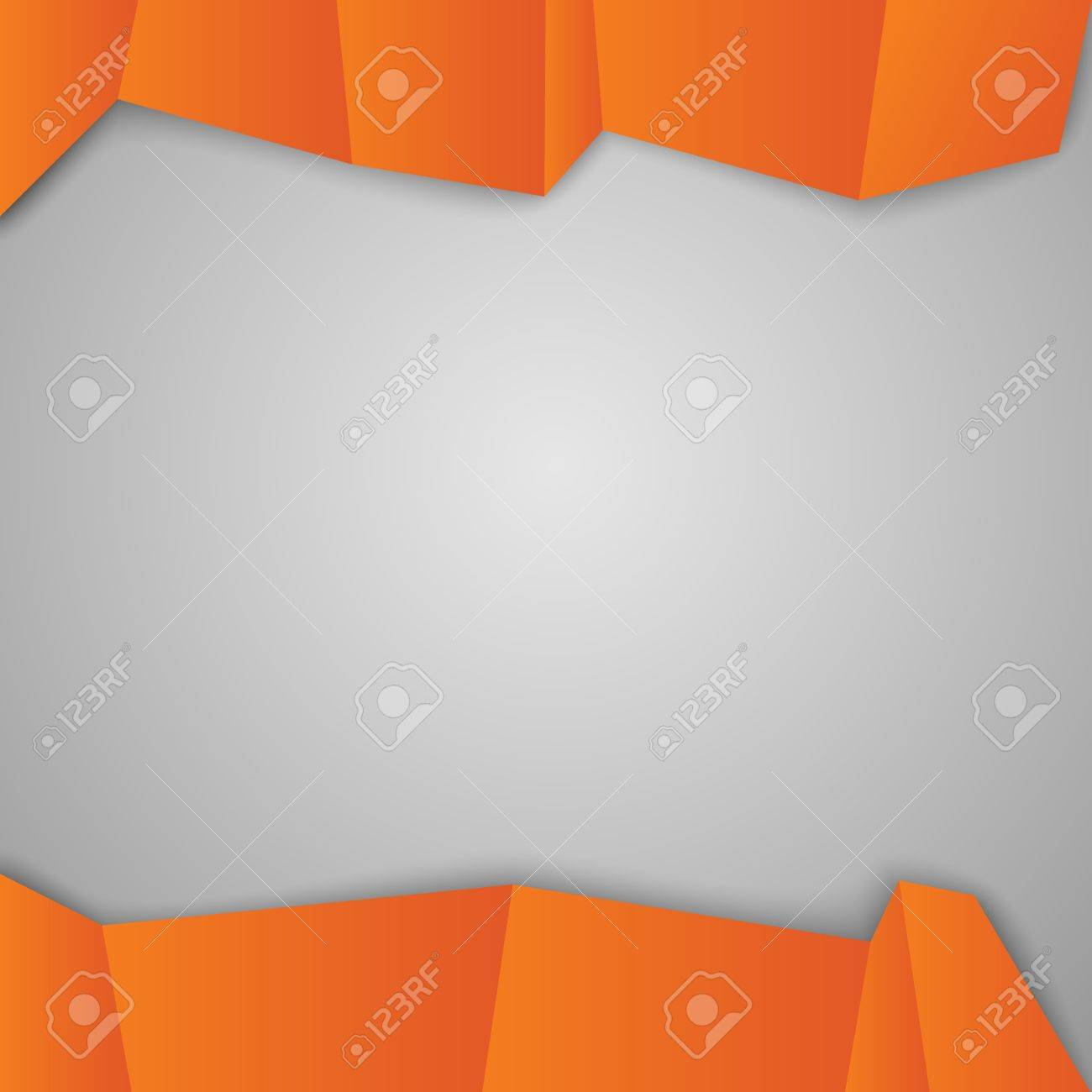 Orange squares  Geometric squares shapes  Vector illustration, contains transparencies, gradients and effects Stock Vector - 19092215