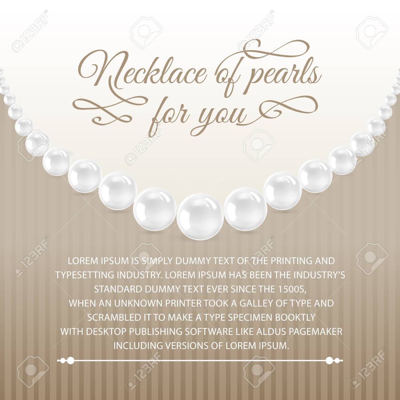 White card for congratulation on a background from lace  Vector illustration, contains transparencies, gradients and effects Stock Vector - 19991510