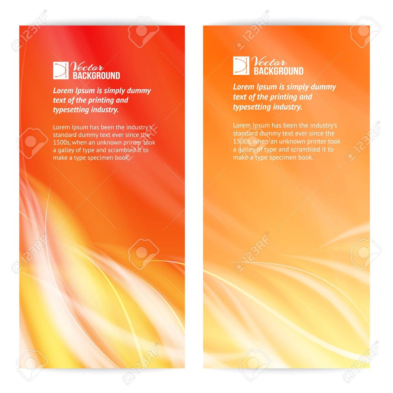 Abstract flame card  illustration Stock Vector - 20236069