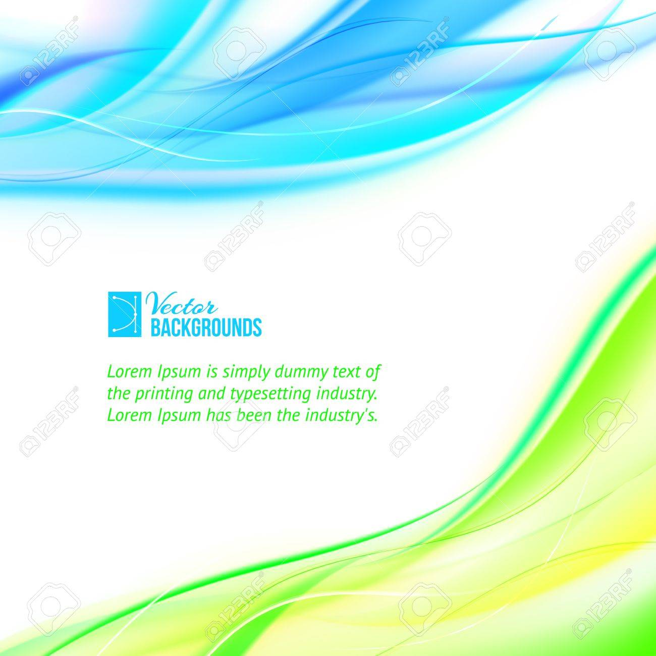 Abstract banner illustration, contains transparencies, gradients and effects Stock Vector - 20875878