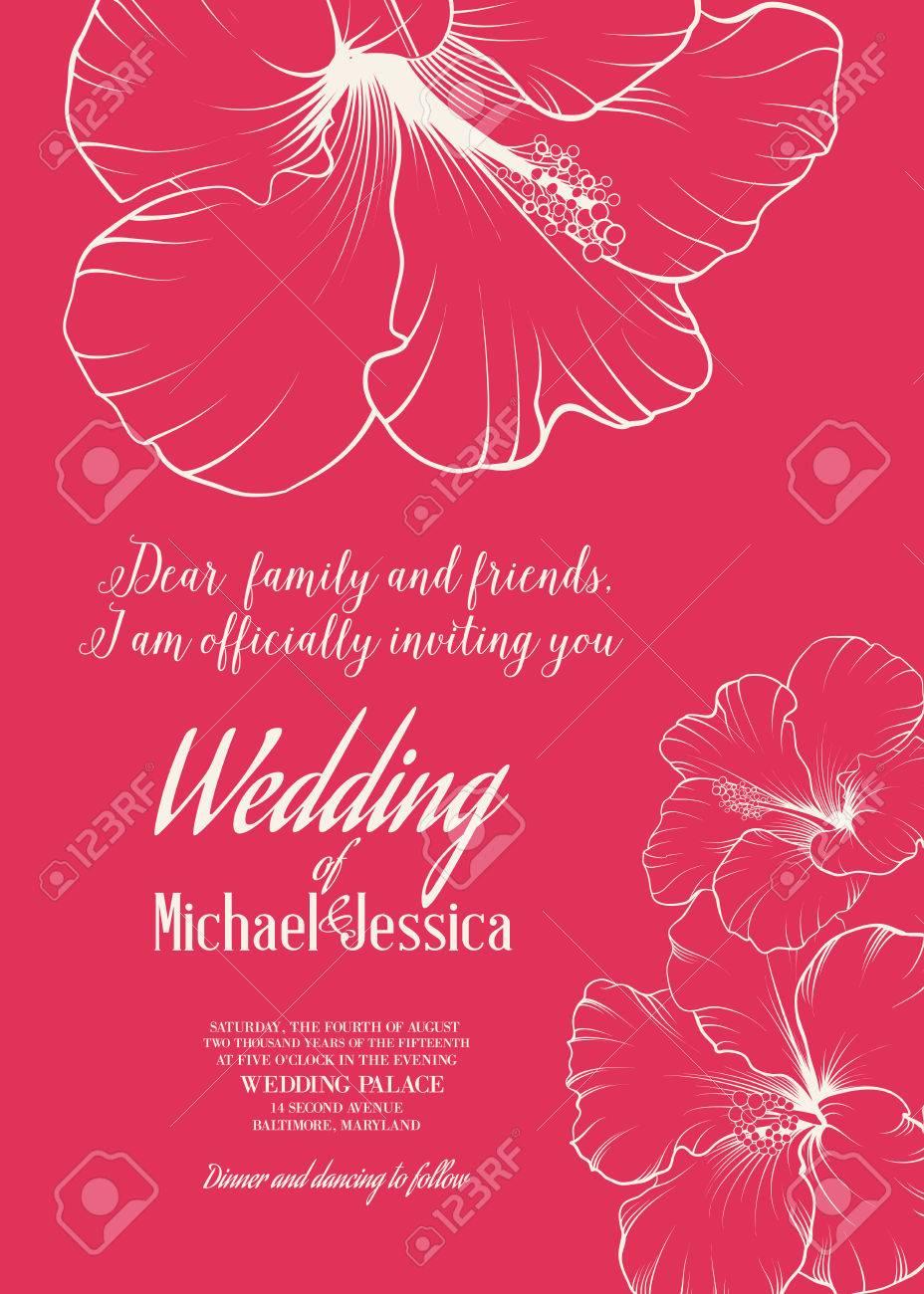 Fleurs de mariage exotiques