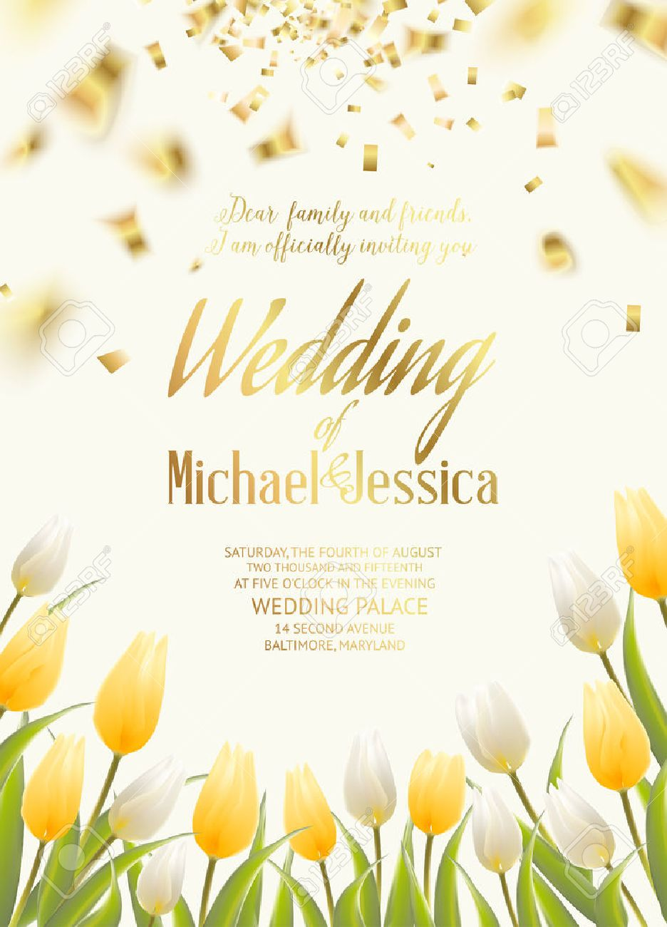 Flores de la boda de primavera