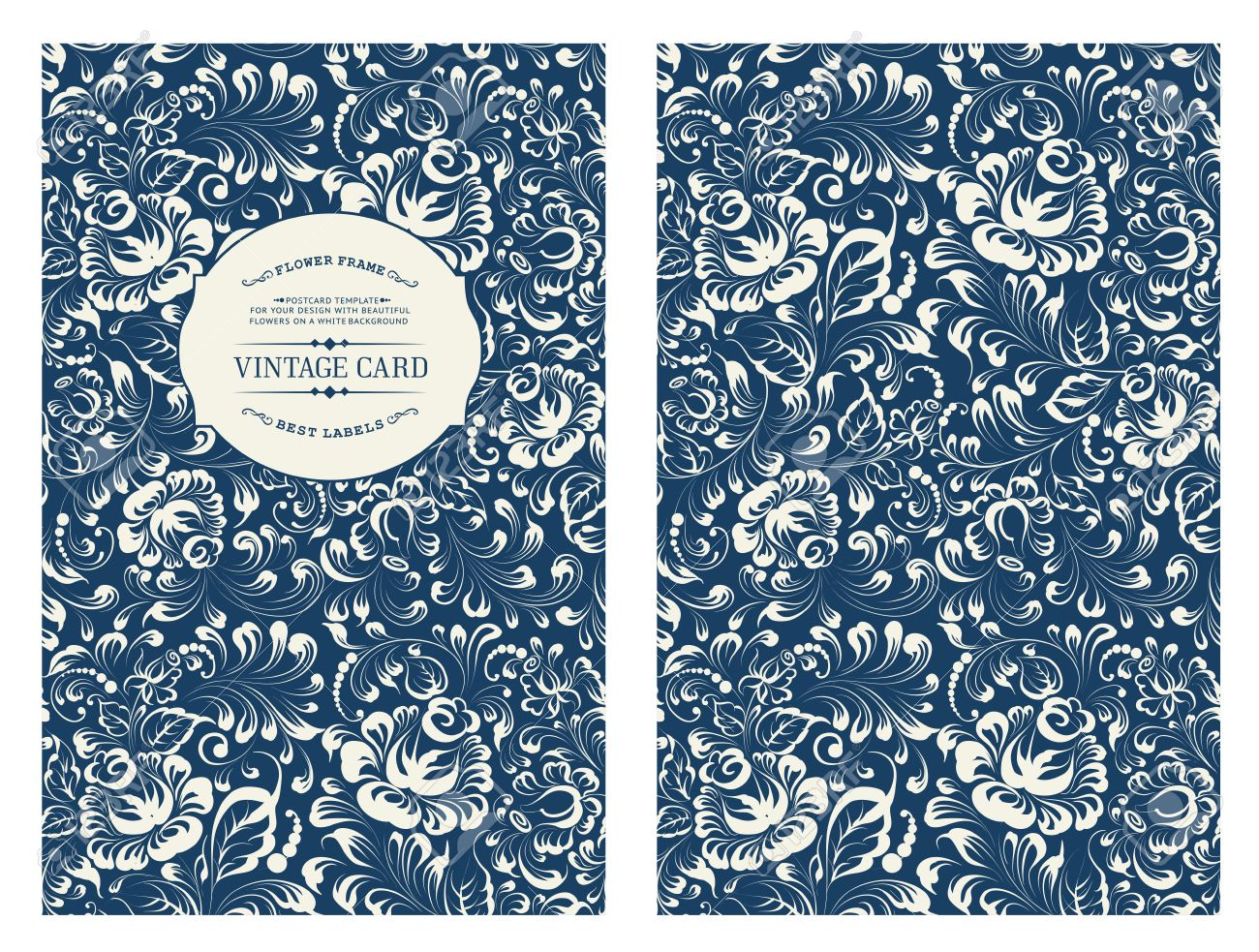 Conception Pour Vous Couverture Personnelle Rose Fleurs Theme Floral Pour La Couverture Du Livre Ornement De Seamless Floral Dans Le Style Gzhel
