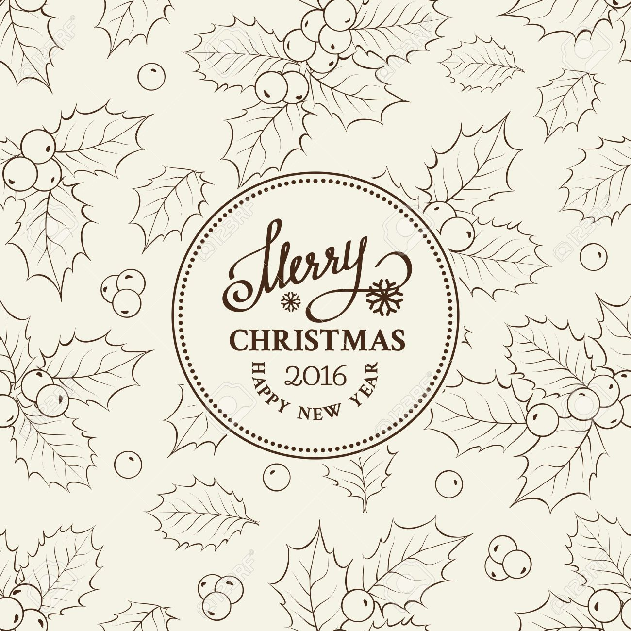 Christmas card with text mistletoe holiday vintage label card christmas card with text mistletoe holiday vintage label card invitation template for your holiday buycottarizona Image collections