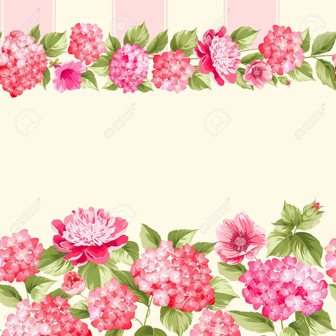 Floral Rose Wallpaper Borders