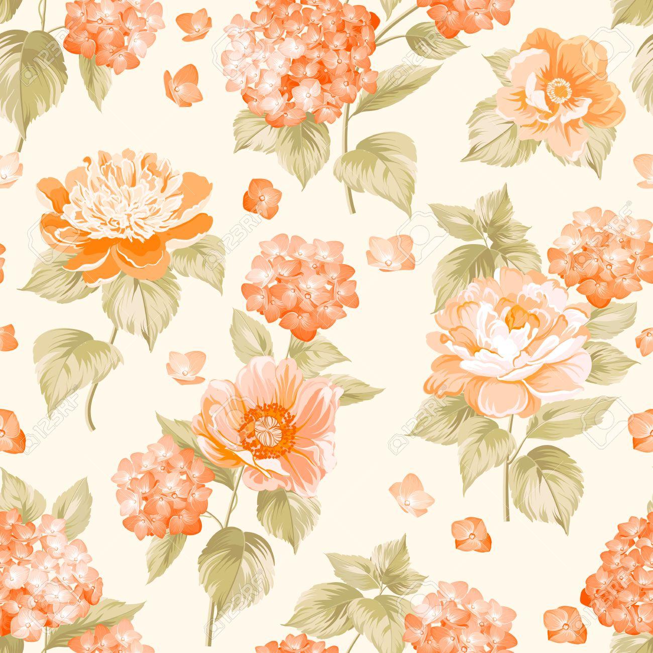 Background Flower pattern photos