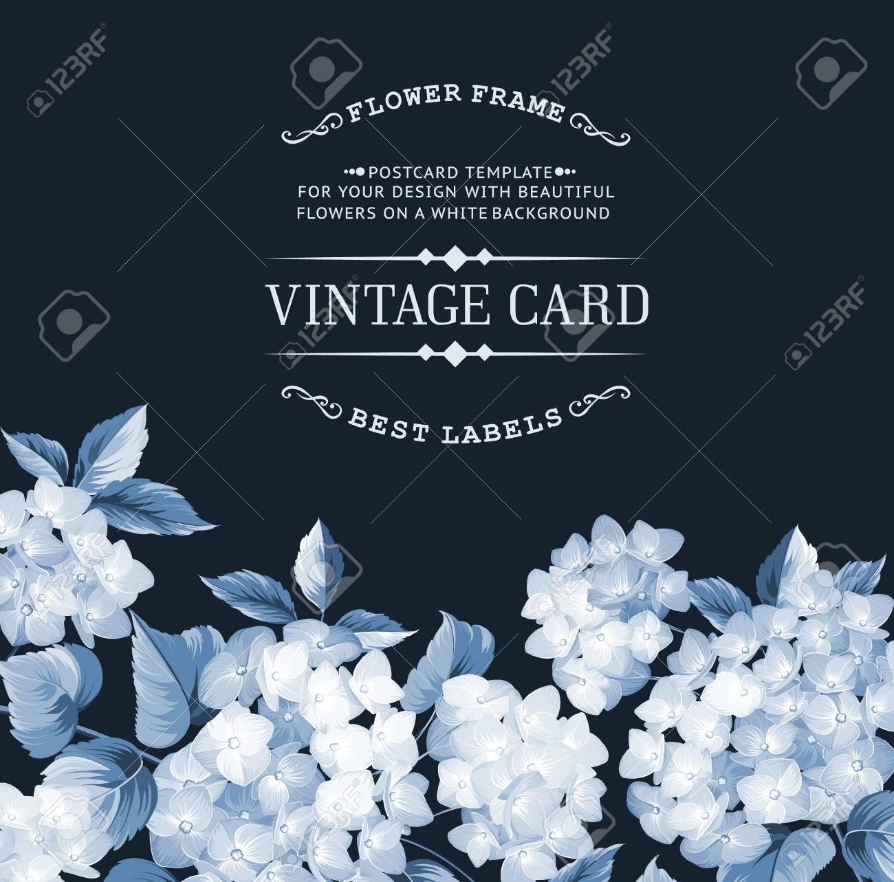 Royal Blue Wedding Invitation Blank Templates Party Invita
