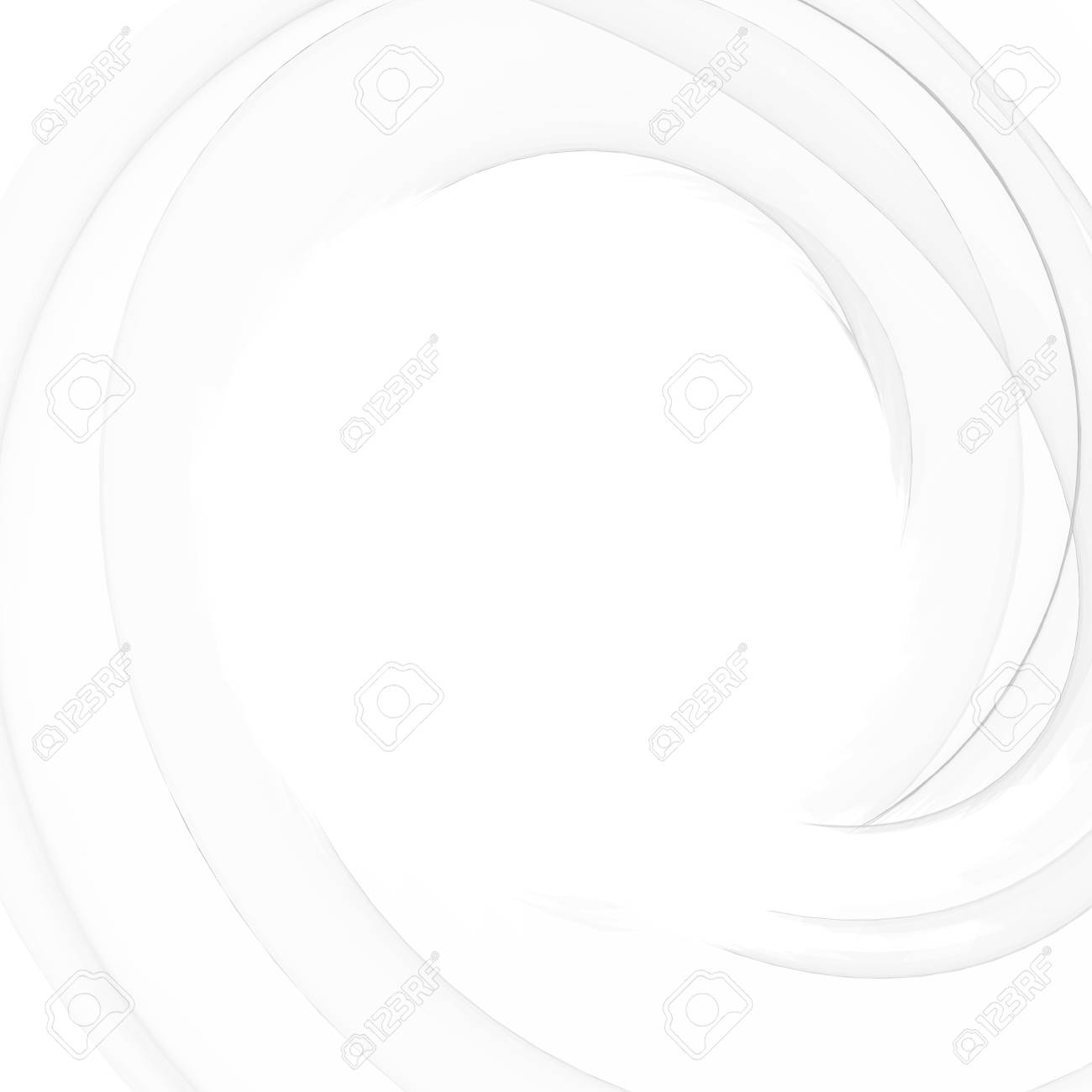 Beautiful abstract concept design. Gray swirl and blur vortex background. Abstract light shape. Grey gradient wallpaper. Vector illustration. - 125939643
