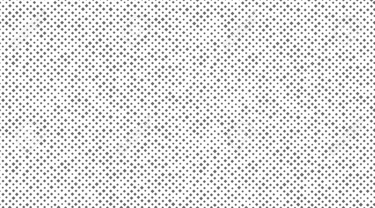 Seamless pattern of small rhombus. Vector illustration. Canvas or fabric texture imitation - 115052719