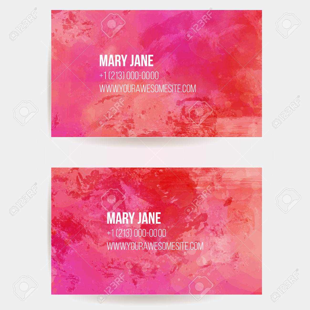 Business card templates with vector pink textured background business card templates with vector pink textured background stock vector 33954263 accmission Gallery