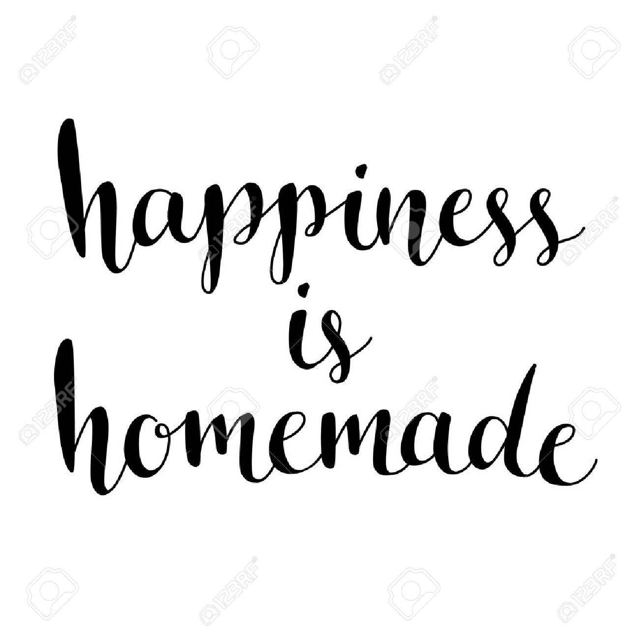 picture regarding Happiness is Homemade referred to as Pleasure is selfmade. Inspirational quotation over lifetime, residence,..