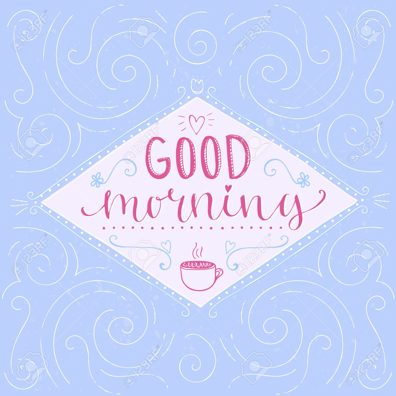 Good morning calligraphy phrase start of the day greeting good morning calligraphy phrase start of the day greeting hand lettering pastel kristyandbryce Image collections