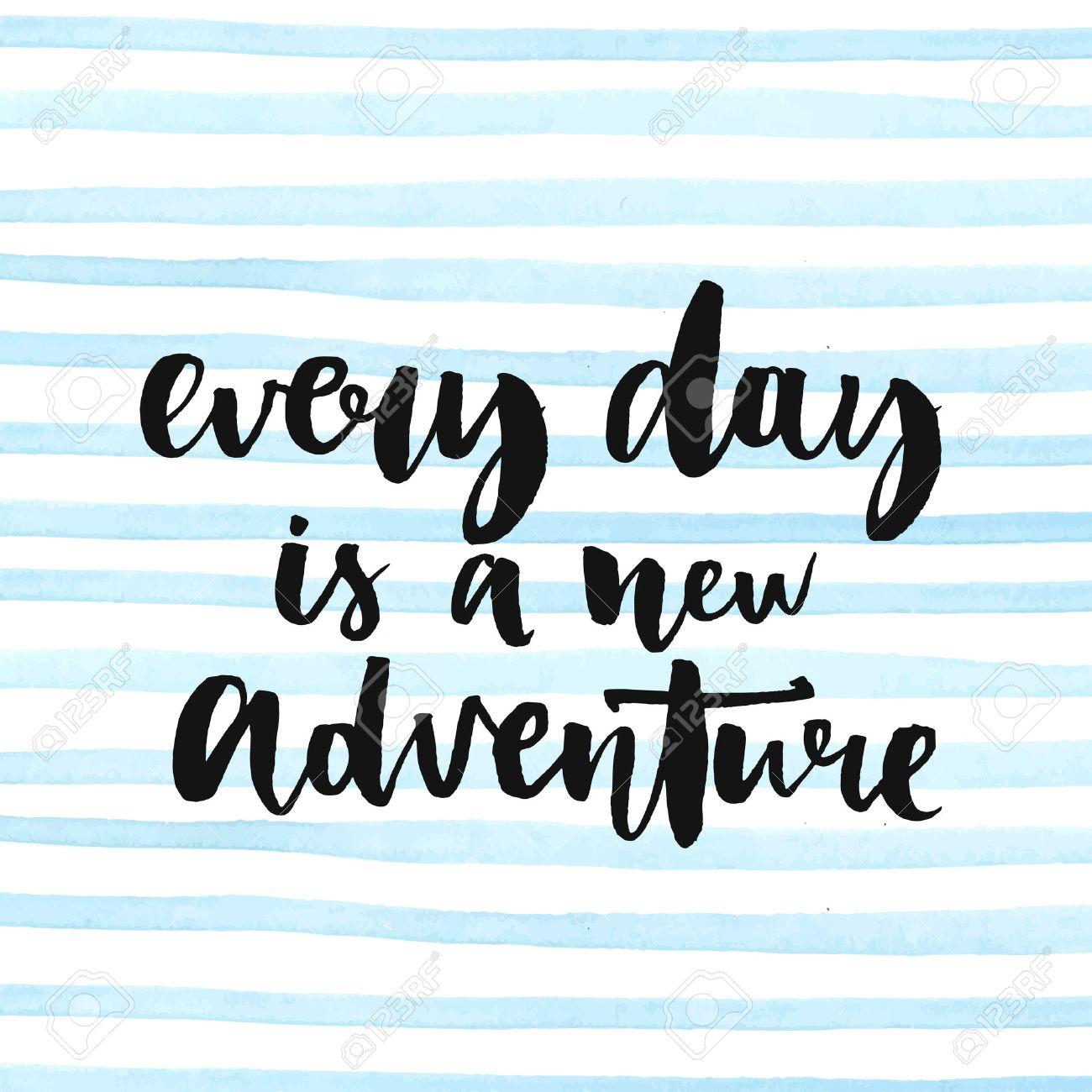 Préférence Chaque Jour Est Une Nouvelle Aventure. Citation Inspirée Sur La  DA46