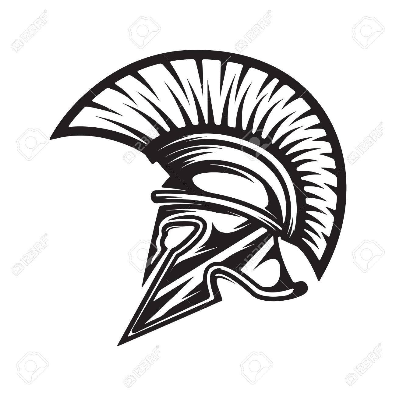 spartan helmet military emblem design element for logo label rh 123rf com spartan helmet logo non copyright spartan helmet logo design