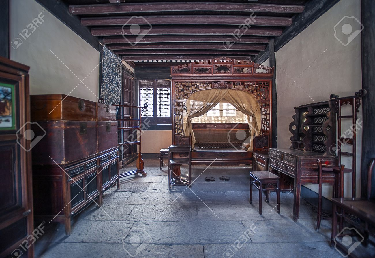 Ancient Chinese Bedroom