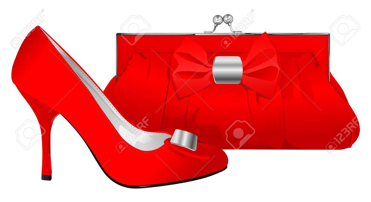 Red light clip art amp red light clip art clip art images clipartall -  Clipart Pinterest Purses Source Purse Vector Realistic Red Shoe And Purse On White Background Illustration